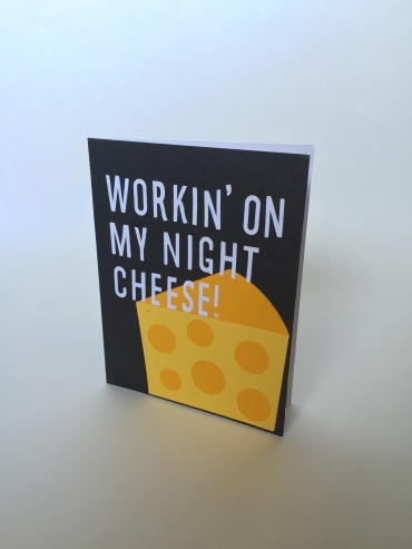 Night Cheese Card